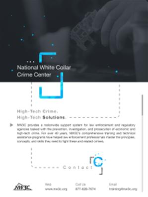 Image for National White Collar Crime Center Flyer