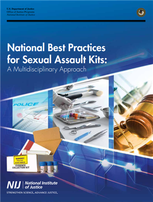 Image for National Best Practices for Sexual Assault Kits: A Multidisciplinary Approach