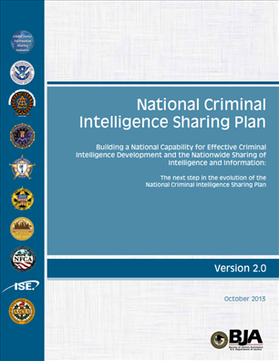 Image for National Criminal Intelligence Sharing Plan – Version 2.0