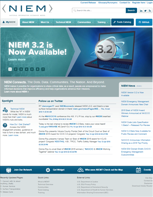 Image for National Information Exchange Model (NIEM) Technical Support Project