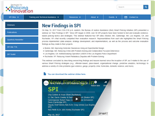 Image for New Findings in SPI