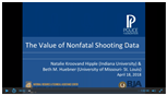 Image for The Value of Nonfatal Shooting Data- A Police Foundation Webinar