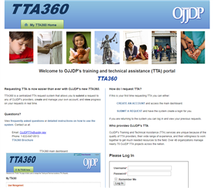 Image for TTA360 - OJJDP's Training and Technical Assistance Portal
