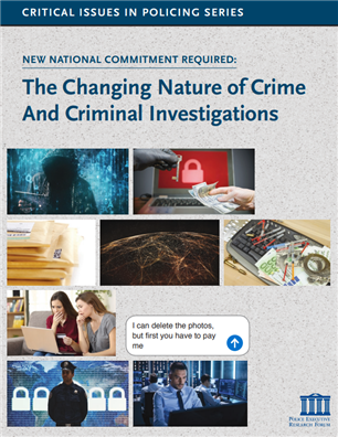 Image for The Changing Nature of Crime And Criminal Investigations