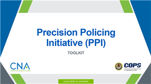 Image for Precision Policing Initiative (PPI) Toolkit