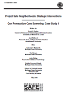 Image for Project Safe Neighborhoods Case Study: Gun Prosecution Case Screening