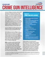 Image for PSP Research Brief: Crime Gun Intelligence