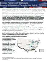Image for PSP: Introducing the Community of Practice for Crime Analysts
