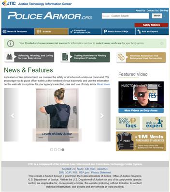 Image for PoliceArmor.org