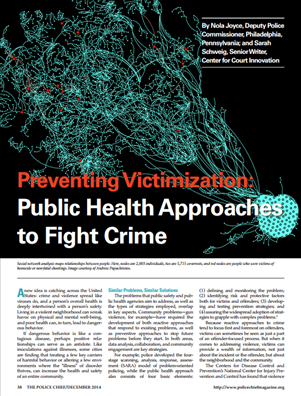 Image for Preventing Victimization: Public Health Approaches to Fight Crime