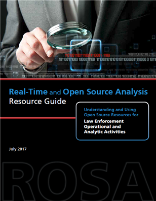 Image for Real-Time and Open Source Analysis Resource Guide