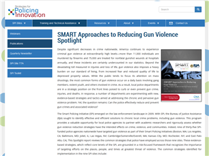 Image for SMARTApproaches to Reducing Gun Violence