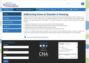 Image for Addressing Crime or Disorder in Housing Webinar