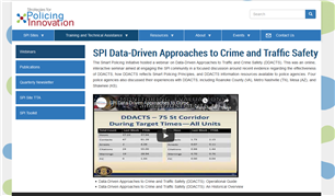 Image for Data-Driven Approaches to Crime and Traffic Safety Webinar
