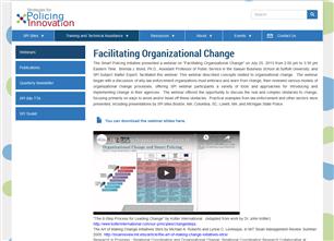 Image for Facilitating Organizational Change Webinar