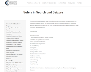 Image for Safety in Search and Seizure