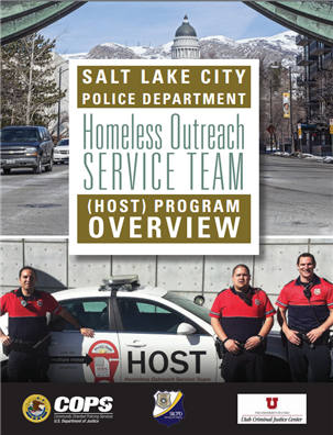 Image for Salt Lake City Police Department Homeless Outreach Service Team Program Overview