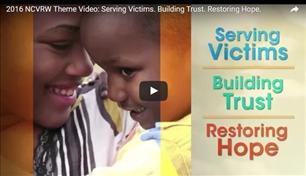 Image for Serving Victims. Building Trust. Restoring Hope