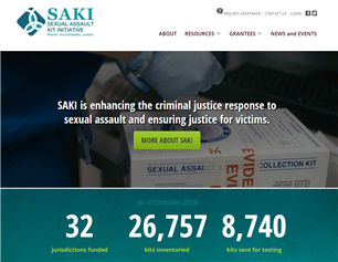 Image for Sexual Assault Kit Initiative (SAKI)