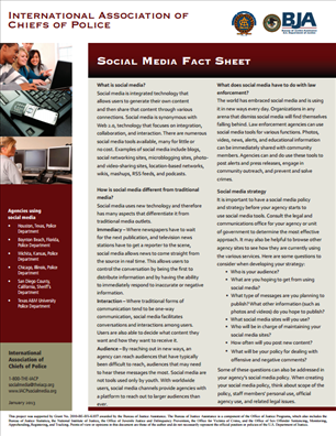 Image for Social Media Fact Sheet