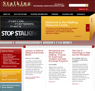 Image for Stalking Resource Center