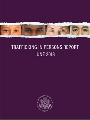 Image for U.S. Department of State 2018 Trafficking in Persons Report