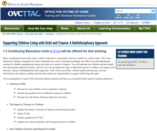Image for Supporting Children Living with Grief and Trauma: A Multidisciplinary Approach