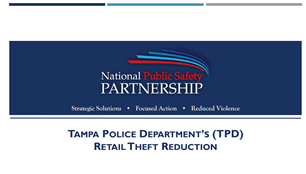Image for PSP Webinar: Retail Theft Reduction Strategies (Presentation Slides)