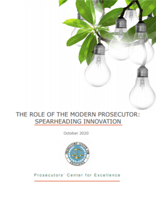Image for The Role of the Modern Prosecutor: Spearheading Innovation