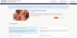 Image for Tribal Oriented Policing Strategies (TOPS) – Online Training