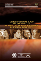 Image for Using Federal Law To Prosecute Domestic Violence Crimes in Indian Country