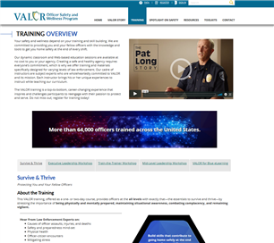 Image for VALOR Officer Safety Training