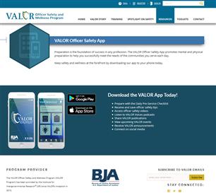 Image for VALOR Officer Safety App