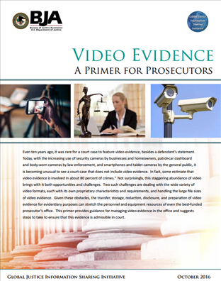 Image for Video Evidence - A Primer for Prosecutors