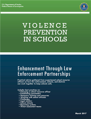 Image for Violence Prevention in Schools: Enhancement Through Law Enforcement Partnerships