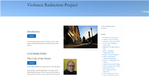 Image for Violence Reduction Project Essays