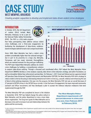 PSP Case Study: West Memphis, Arkansas cover page