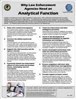Image for Why Law Enforcement Agencies Need an Analytical Function